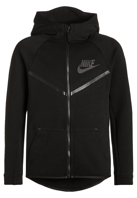 nike free flyknit, Nike Performance Tracksuit top - black Kids Sweat