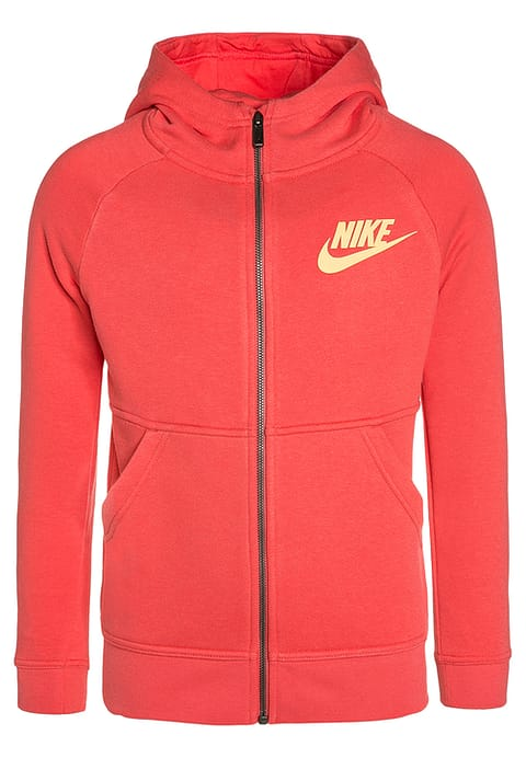 Nike Performance MODERN - Tracksuit top - ember glow/peach cream