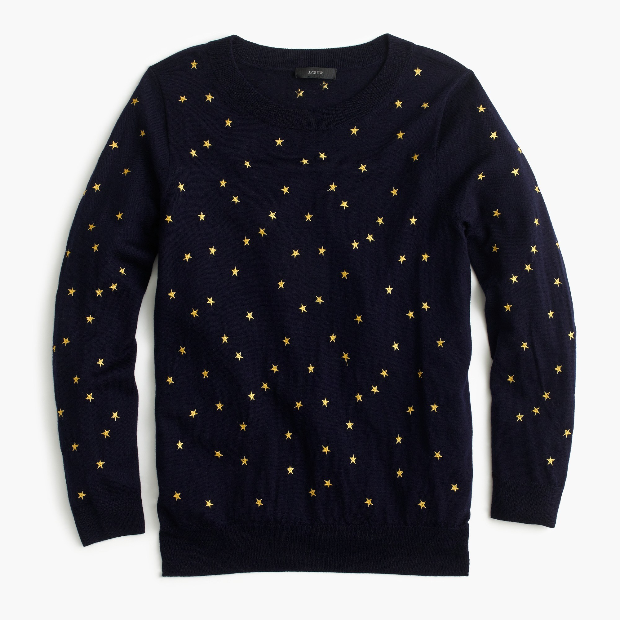 Women's Tippi Sweater In Embroidered Stars - Women's Sweaters | J.Crew