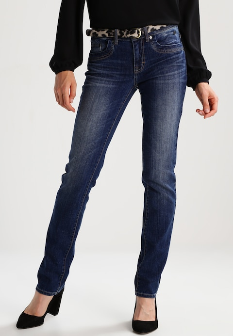 TOM TAILOR ALEXA - Straight leg jeans stone blue denim 01142_AZ