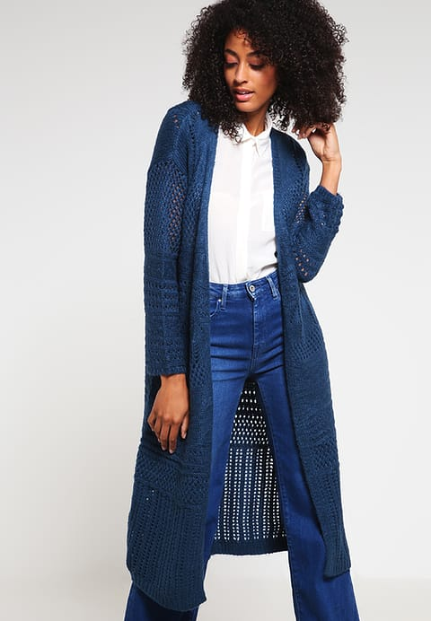 Good-Feeling Tom Tailor Denim Ladies Wear Cardigan Petrol