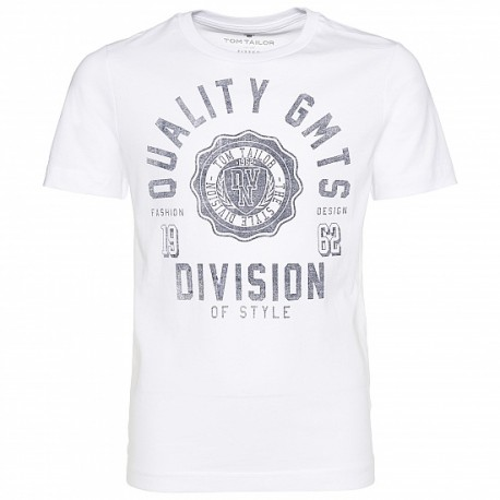 Tom Tailor T-Shirt with letters