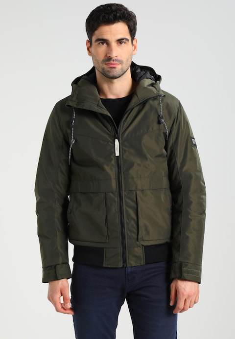 men TOM TAILOR DENIM WINTER - Winter jacket - woodland green
