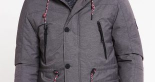 Men's Tom Tailor Denim Winter Coat - Somber Grey - Jackets and Coats