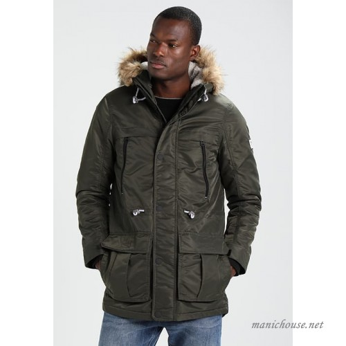 TOM TAILOR DENIM Winter coat - woodland green hGAYqsSR