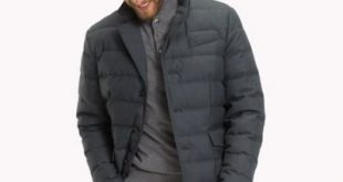 Wool Flannel Down Jacket | Tommy Hilfiger