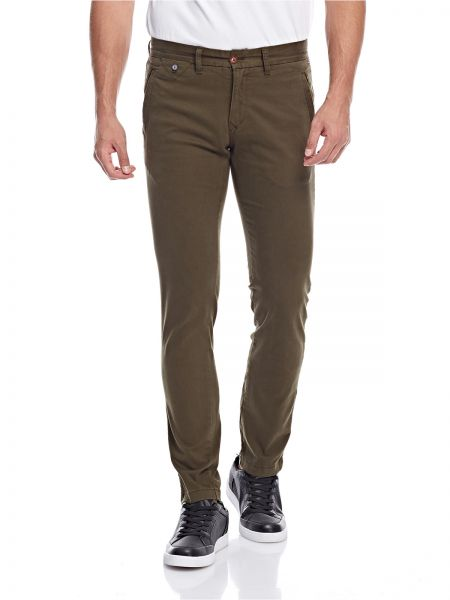 Tommy Hilfiger Straight Trousers for Men - Olive | Souq - UAE