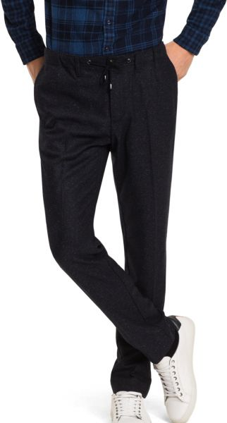 Tommy Hilfiger Drawstring Trousers for Men - Navy Blue | Souq - UAE
