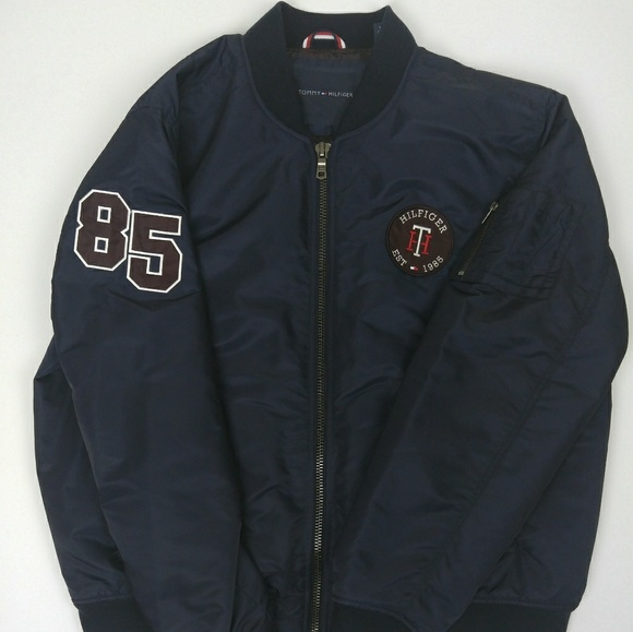 Tommy Hilfiger Jackets & Coats | Nwt Spell Out 1985 Winter Jacket