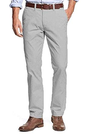 Amazon.com: Tommy Hilfiger Mens Tailored Fit Chino Pants: Clothing