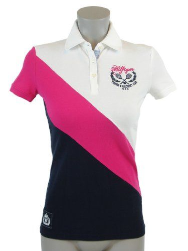 Tommy Hilfiger Slim Fit Womens Logo Polo Shirt | My Style | Tees