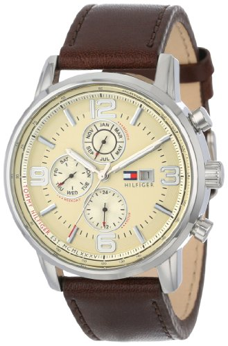 Amazon.com: Tommy Hilfiger Men's 1710337 Stainless Steel Brown
