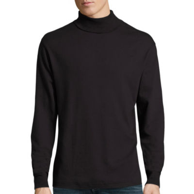 Turtlenecks Black Shirts for Men - JCPenney