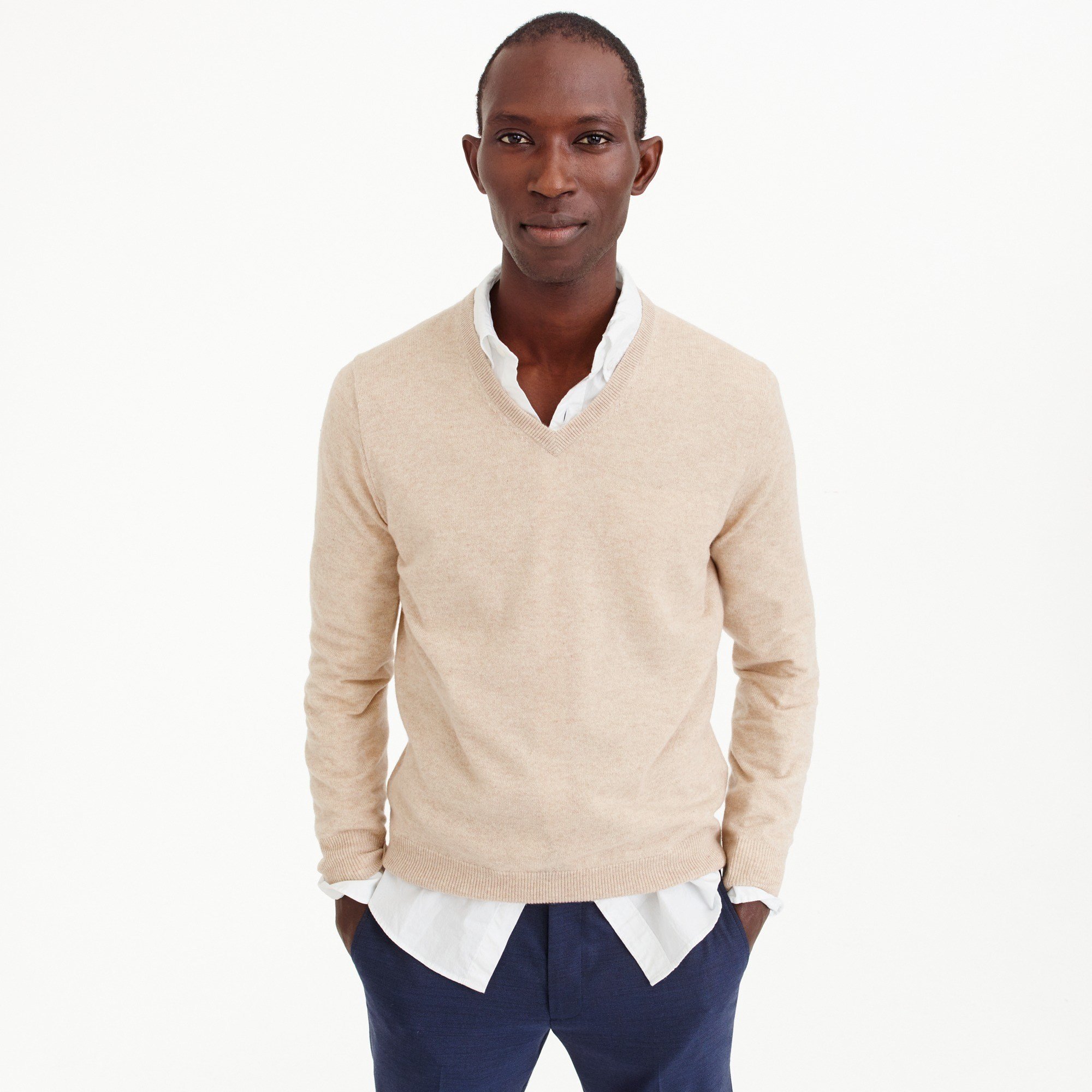 Men's Everyday Cashmere V-Neck Sweater - Men's Sweaters | J.Crew