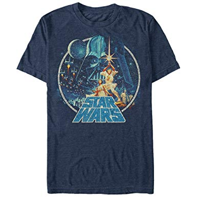 Amazon.com: Star Wars Men's Vintage Victory Graphic T-Shirt: Clothing