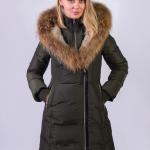 Long down coats for women