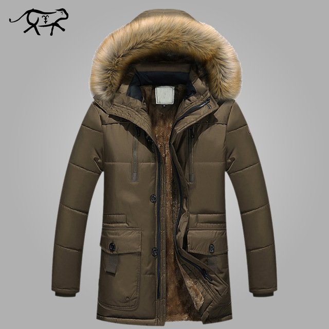 New Brand Clothing Winter Jacket Men Fashion Winter Parka Mens With