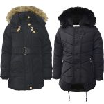 Winter Quilted Coat with Hood