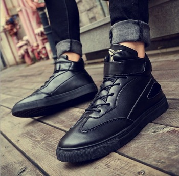Zm21718a Italy Style Men Fashion Casual Shoes Wholesale Men Winter