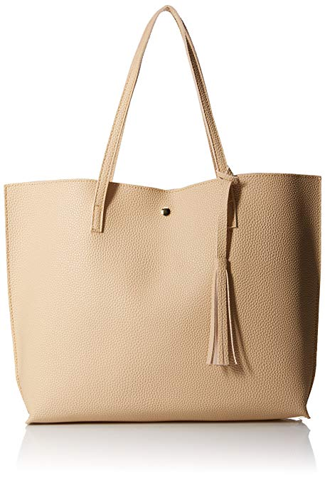 Amazon.com: OCT17 Women Tote Bag - Tassels Faux Leather Shoulder