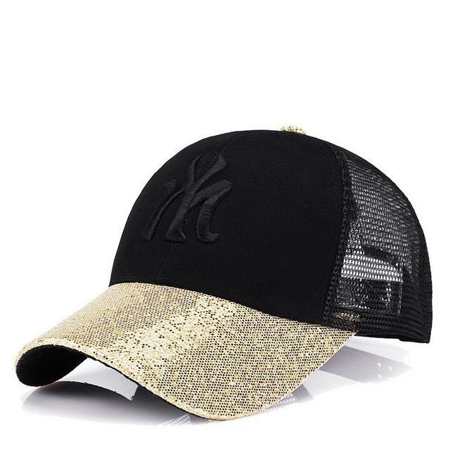 Rancyword] Branded Baseball Caps Canada Women's Cap With Mesh Bone