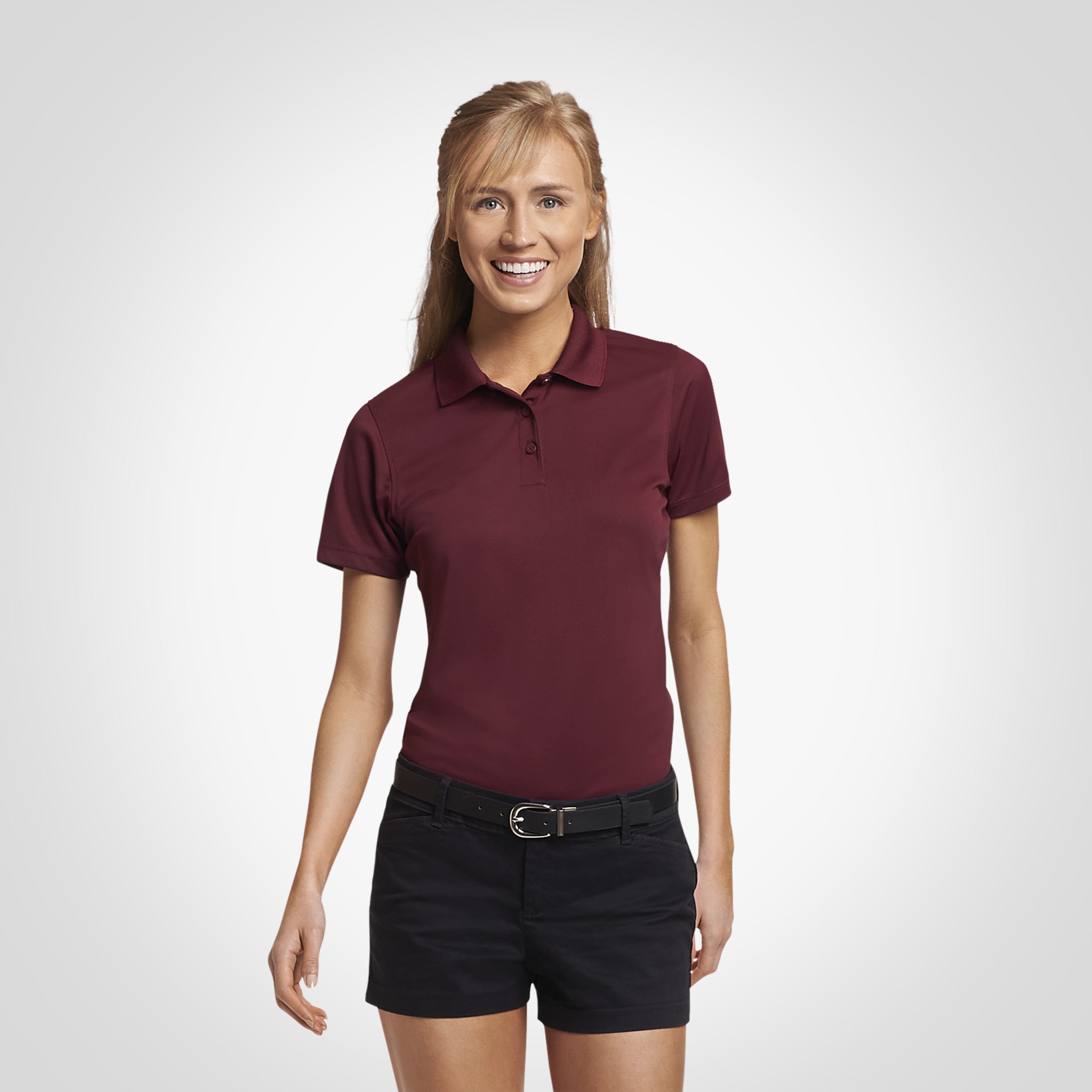 Women's Polos: Athletic Polo Shirts for Women | Russell Athletic