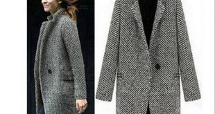 2017 Spring Autumn Women's Wool Coat New Fashion Long Woolen Coat