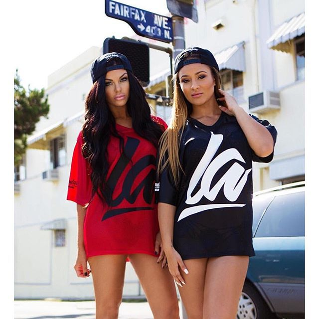 Black and Red solid color fashion casual women young girl long style
