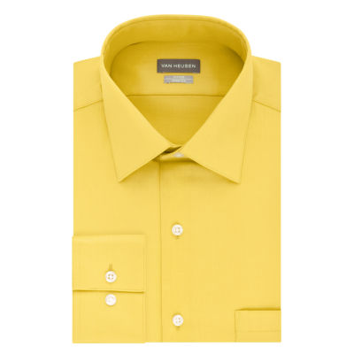 Dress Shirts Yellow Shirts for Men - JCPenney