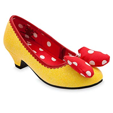 Amazon.com: Disney Minnie Mouse Costume Shoes for Kids - Yellow