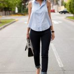 Waisted blouse – feminine and elegant