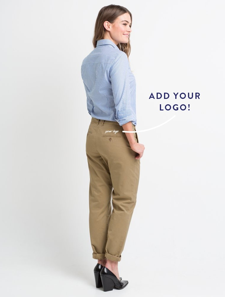 Women's Chinos – exciting alternative to ladies jeans