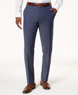 Bar III Men's Slim-Fit Active Stretch Suit Pants, Created for Macy's - Pants  - Men - Macy's