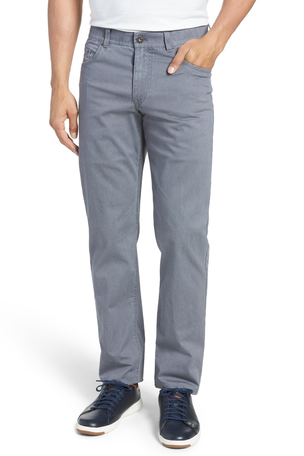 Brax - Five-Pocket Stretch Cotton Pants