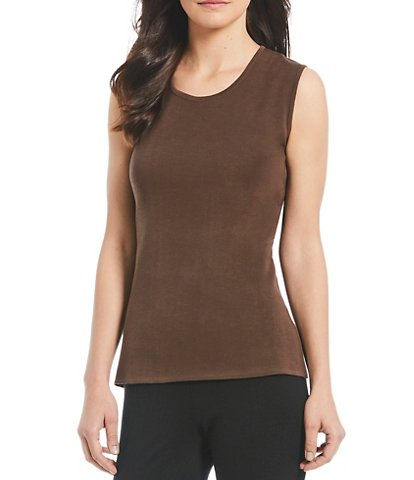 Brown tops: light, dark or patterned