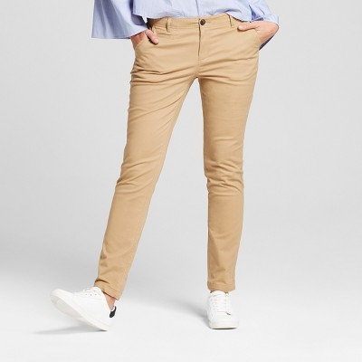 Womenu0027s Straight Leg Slim Chino Pants - A New Day™