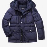 Blue USA Down Jackets