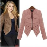 Great combinations with a short blazer in trendy colors