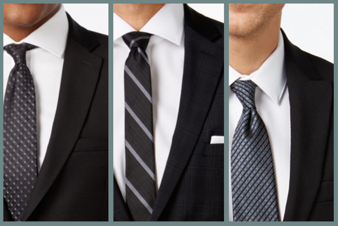 The appropriate tie to the funeral – discreet designs and colors