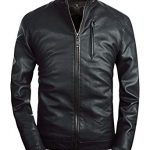 Leather Jackets with Stand Collar