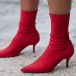 Red ankle boots – suitable for all seasons