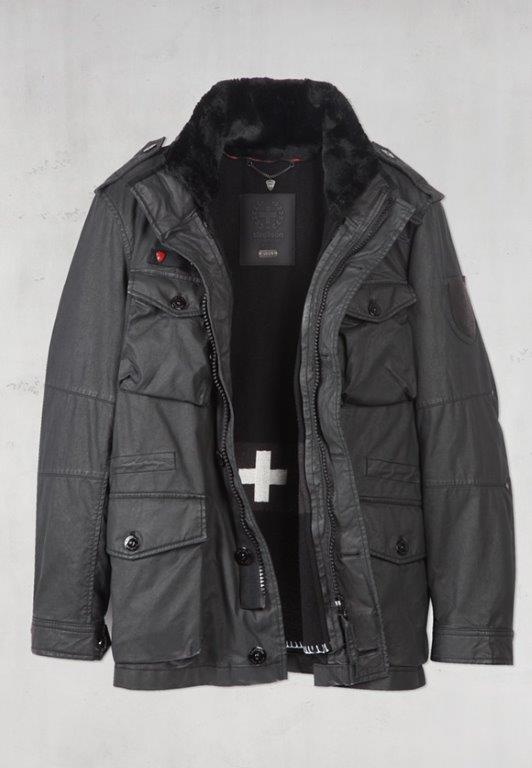 Strellson Swiss Cross Revival Jacket by PiaD | Fashion Men