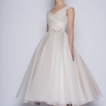 Wedding dress for the registry office