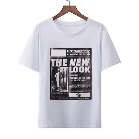 Designer Tshirts For Men Women Brand Tee With Old Newspaper Style