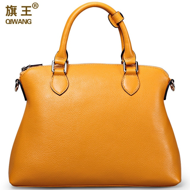 Aliexpress.com : Buy Qiwang Large Yellow Handbags Amazon Shop Hot