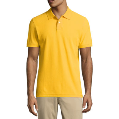 Polo Shirts Yellow School Uniforms for Men - JCPenney