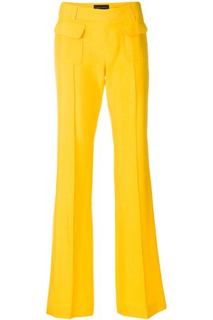 Yellow Trousers Wide Leg Pants for Women, compare prices and buy online
